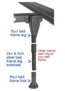 4 leg extenders for bed frame free shipping ebay
