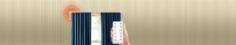 Remote Drapes by Remote For Curtains Motorize Blinds Or Curtains