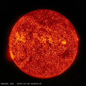 Image: NASA's SDO catches a lunar transit