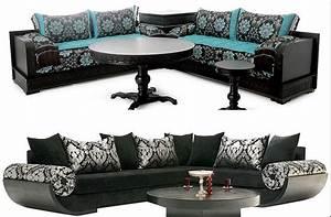 fauteuil de salon marocain et canape moderne deco salon With des canapes moderne