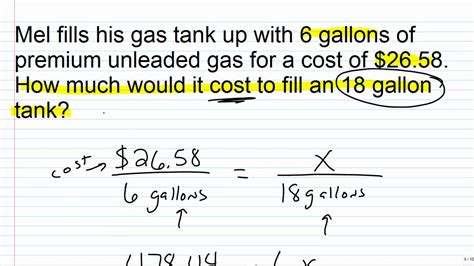 Algebra 1 Help Solving Proportion Word Problems Youtube