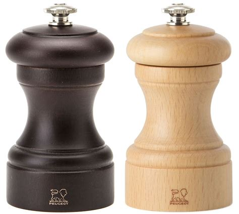 Peugeot Salt And Pepper Mills by Peugeot Bistro Duet Salt And Pepper Mill Set 10cm For 67