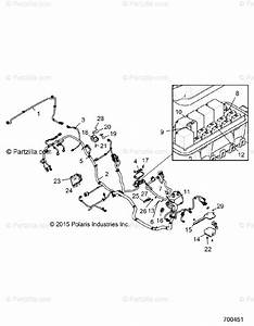 Polaris Side By Side 2016 Oem Parts Diagram For Electrical  Wire Harness