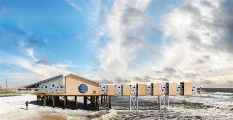 artist envisions futuristic fort  homes designed