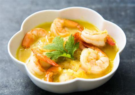 cuisine paleo easy coconut shrimp curry recipe with