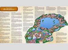 And Food Wine Map 2017 Epcot Festival 8