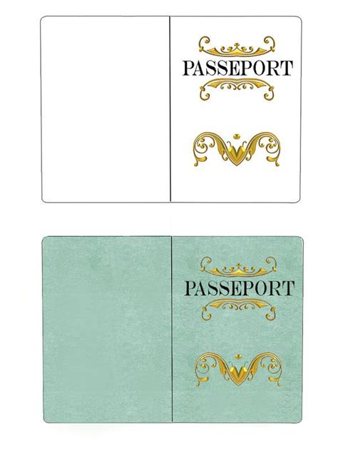 theme passeport enfant fete despion  invitation