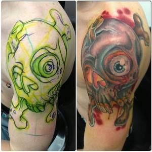Tumblr Traditional Skull And Crossbones Tattoo 2015