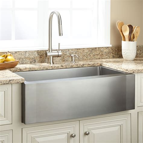 single bowl kitchen sink stainless farmhouse