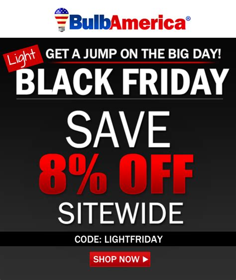 pre black friday light sale bulbamerica