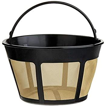 To maintain the best performance, the coffee maker should be descaled whenever the water filter icon appears. Amazon.com: KitchenAid KCM22GTF Gold Tone Reusable Coffee Filter for Models KCM222 and KCM223 ...