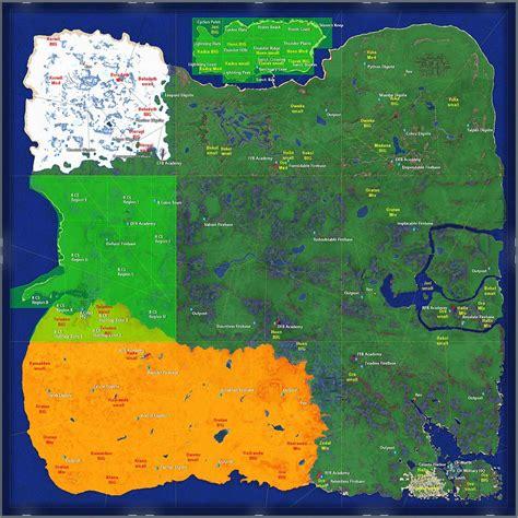 mob map  planet arkadia