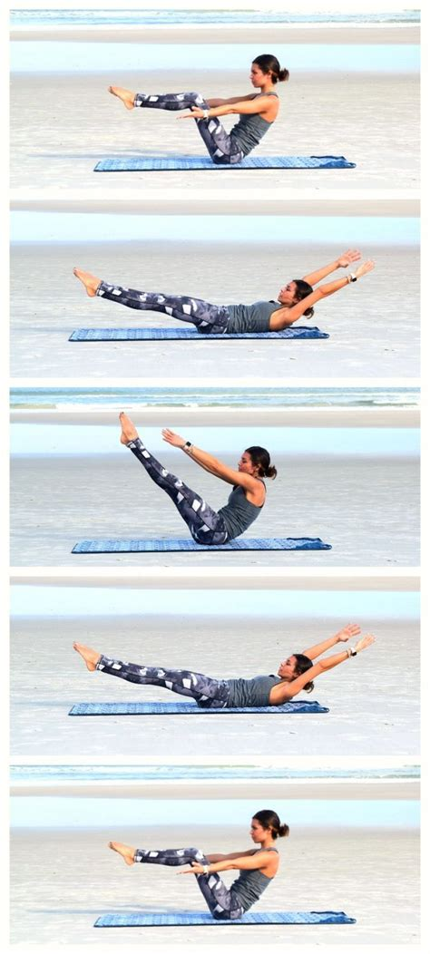 Boat Pose Core Exercise by 1000 Ideas About Pilates Workout On Pinterest Pilates