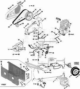 Campbell Hausfeld Vt622701 Parts Diagram For Air