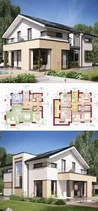 Haus Bauen Ideen Grundriss : einfamilienhaus architektur modern mit galerie ~ Orissabook.com Haus und Dekorationen