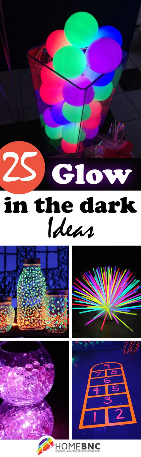 glow   dark ideas  designs