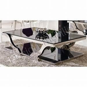 Table Basse En Verre Design : table basse design en verre ~ Teatrodelosmanantiales.com Idées de Décoration