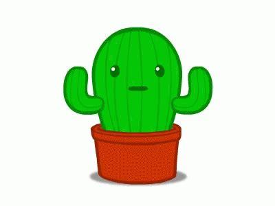 cactus animated gif cactus animated discover share gifs
