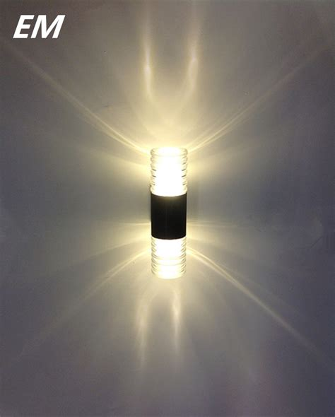 new 2 5w led wall sconce outdoor waterproof