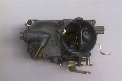 pieces detachees cv  mehari carburateur simple corps