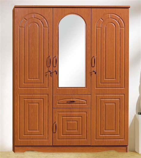 Wooden Wardrobe With Mirror by Bedroom Furniture High Quality 3doors Wooden Wardrobe