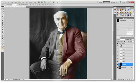 colorize black  white vintage photographs  photoshop
