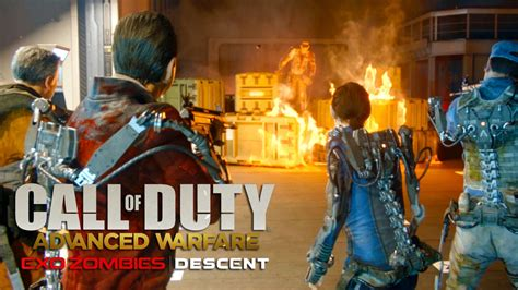 exo zombies call of duty advanced warfare exo zombies descent