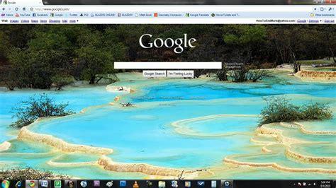 change googles background youtube