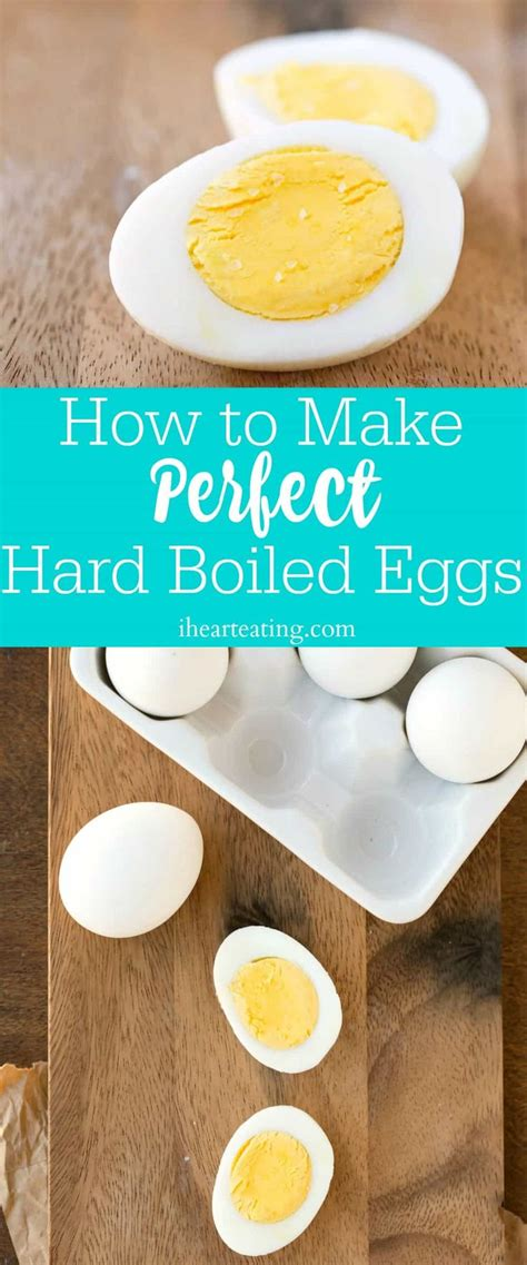 How to Make Perfect Hard Boiled Eggs   Perfect hard boiled ...