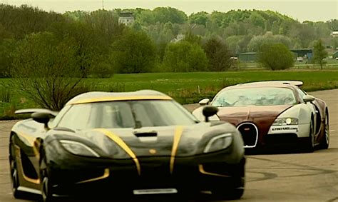 koenigsegg hundra price when a bugatti veyron drag races against a koenigsegg