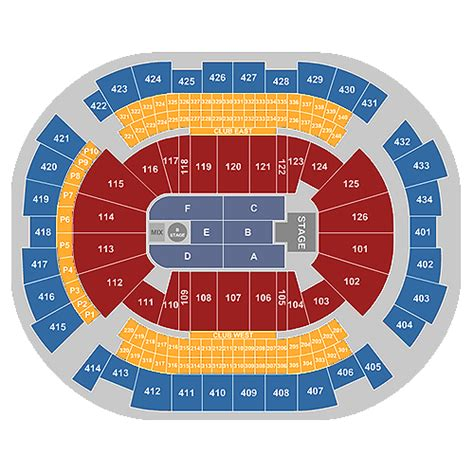 Toyota Center Houston Events by Toyota Center Houston Tickets Schedule Seating Chart