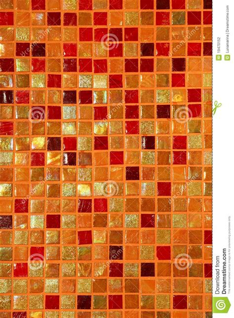 ceramic glass colorful tiles mosaic composition stock