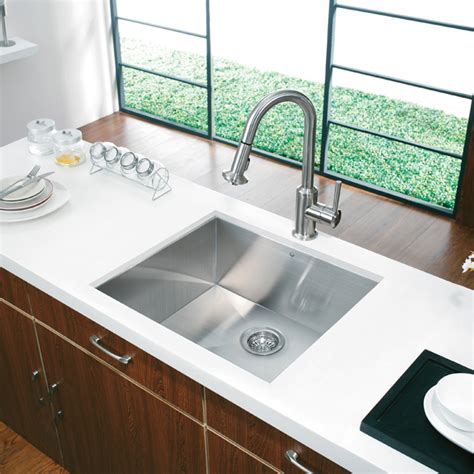 """20 """"au Courant"""" Stainless Steel Sinks  Abode"""