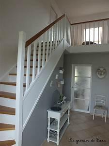deco montee escalier beau peindre escalier bois sans With peindre mur sans poncer