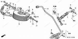 Honda Motorcycle 2004 Oem Parts Diagram For Oil Cooler