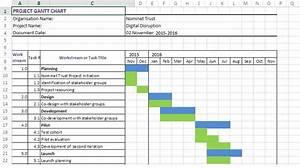 Free Excel Gantt Chart Template 2007 Xls  U2013 Microsoft Chart