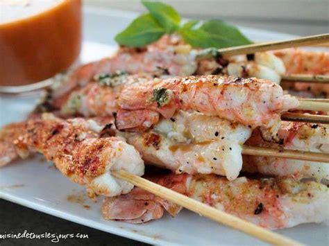 cuisiner langoustine recettes de queues de langoustine