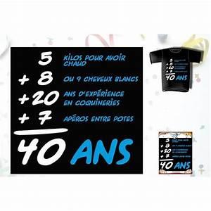 T Shirt 40 Ans : t shirt anniversaire addiction 40 ans homme achat vente b ton p e baguette t shirt ~ Farleysfitness.com Idées de Décoration