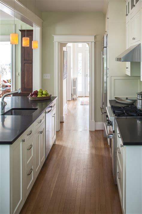 kitchen renovation   rowhouse traditional