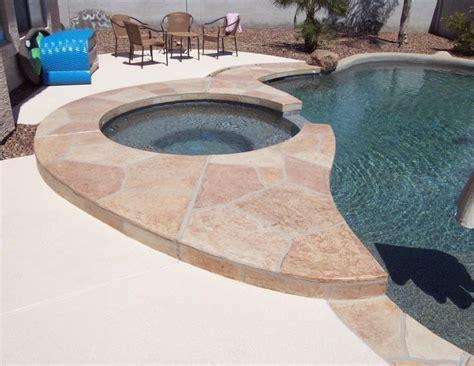 Pool Deck Resurfacing Az by Flagstone Pool Deck Coatings And Repair Az Creative