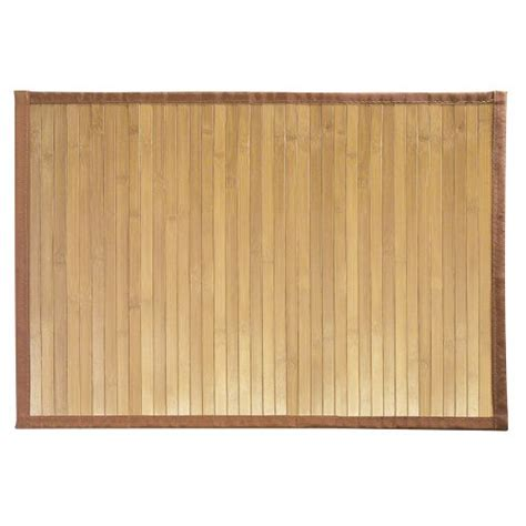 bamboo kitchen floor mat badematten badvorleger aus bambus g 252 nstig kaufen 4304