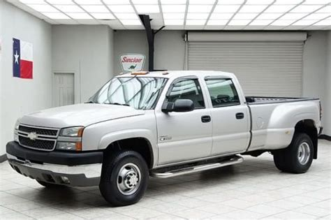 car maintenance manuals 2007 chevrolet silverado head up display purchase used 2005 chevy 3500 diesel 4x4 dually ls crew cab texas truck in mansfield texas