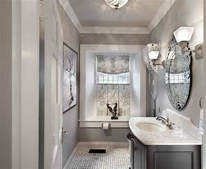 Gray And White Bathroom For Your Beautiful Bathroom