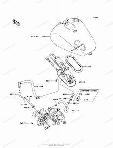Kawasaki Motorcycle 2003 Oem Parts Diagram For Fuel Pump