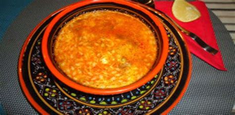 cuisine tunisienne chorba recette chorba tunisienne à la viande