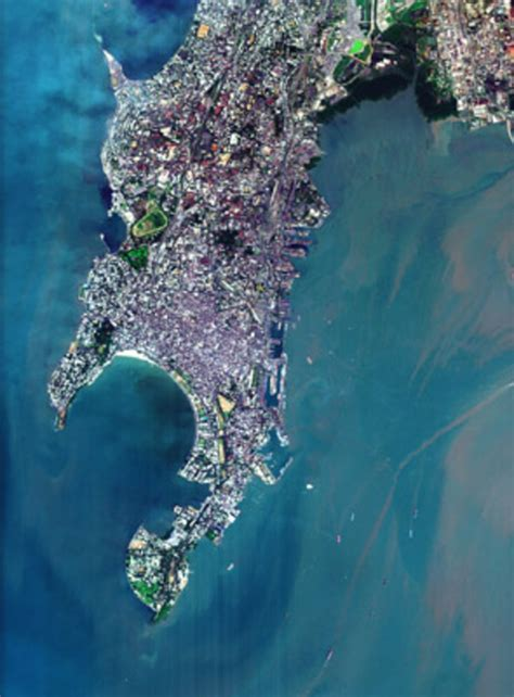 south mumbai india observing  earth  activities