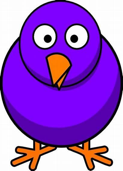 Cartoon Bird Clip Clipart Clker Vector Birds