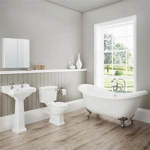darwin traditional bathroom suite now at victorian With pictures of traditional bathrooms