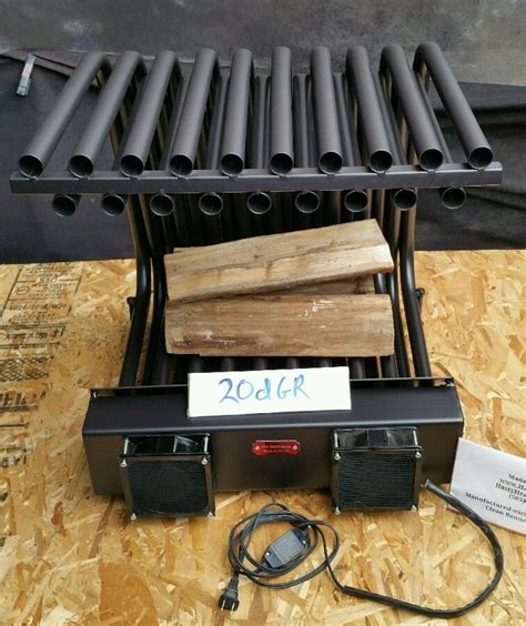 fireplace grate blower 20dgr row fireplace grate heater furnace heat