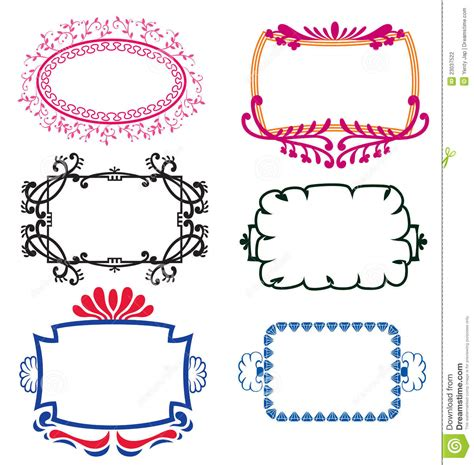 Name The Template by Name Templates Stock Vector Illustration Of Nature